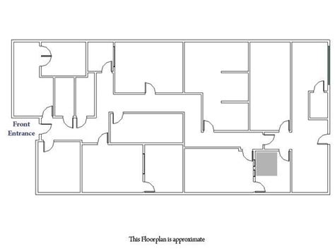 production floor plan recording studio post production for lease