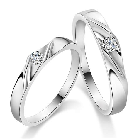 925 sterling silver mens promise ring