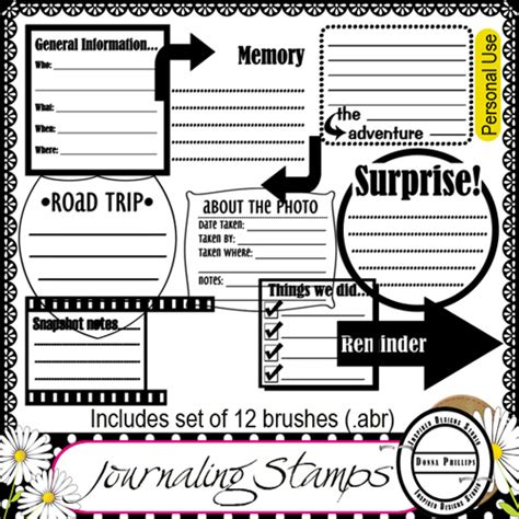 scrapbook journaling templates scrapbooks digital free digital scrapbook