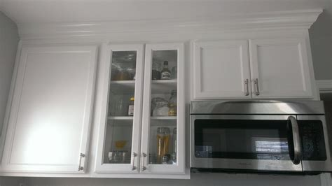 white cabinets with crown molding glass cabinet white cabinets with crown molding our