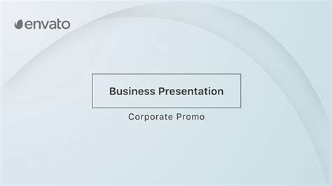 after effects business templates business presentation corporate after effects templates