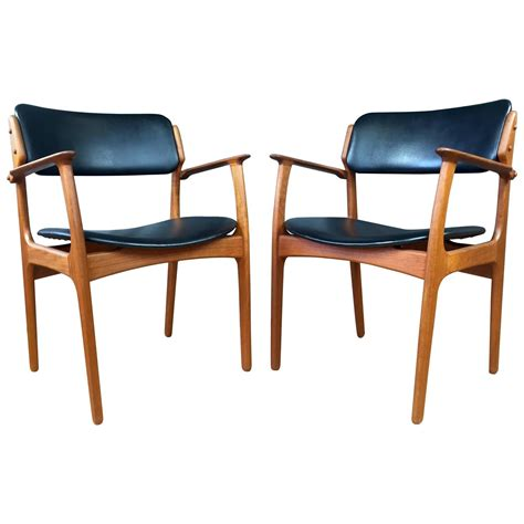 Dining Chairs 50 by Pair Of Teak Model 50 Dining Chairs By Erik Buch For