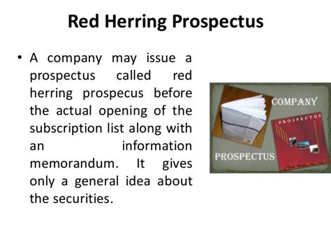 Shelf Prospectus And Herring Prospectus by Prospectus Environment Of Business Business