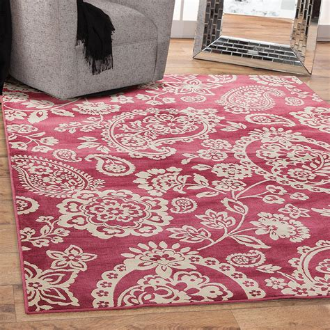sams area rugs sams international sonoma hinsley raspberry 7 ft 10 in x 11 ft 2 in area rug 7085 8x10 the