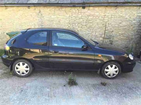Daewoo Lanos Sx Daewoo 2002 Lanos Sx Black Car For Sale