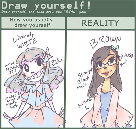 How To Draw Meme - draw yourself meme by chiming ribbon on deviantart