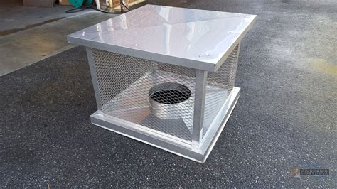Chimney Protection - stainless steel chimney cap with 2 stage protection system