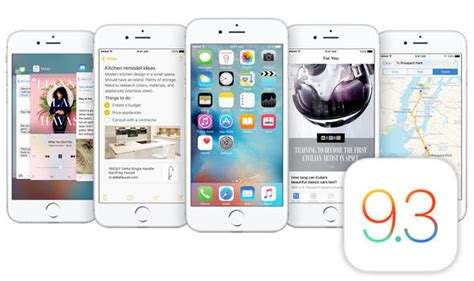 ios 9 3 is out now brings new shift mode secure apple notes express co uk