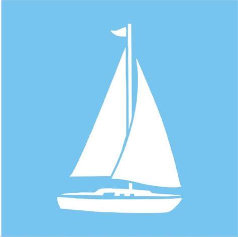 sailboat stencil best of sailboat reusable stencil - Sailboat Sizes