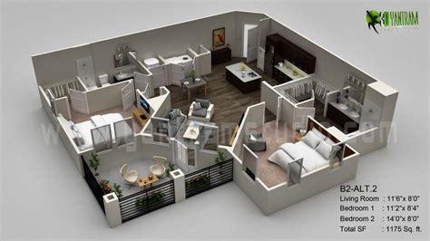Virtual Home Design Site Floorplanner by 3d Floor Plan Visualization By Yantram Studio 3d Artist