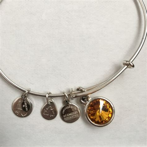 november birthstone alex and ani 46 alex ani jewelry alex and ani topaz november
