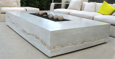 Concrete Fire Table by Seth Ernsdorf   Concrete Exchange
