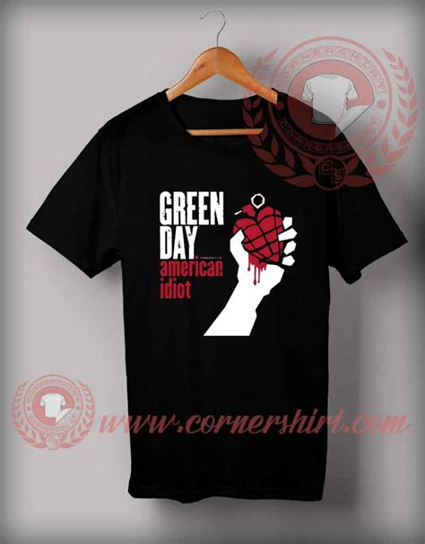 American Idiot Tshirt cheap custom made t shirts american idiot custom design