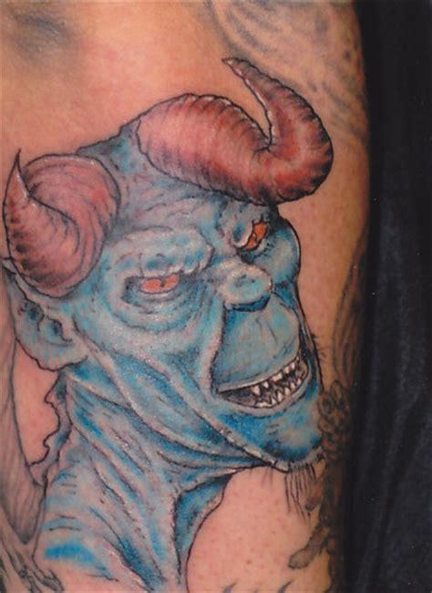blue devil tattoo blue lawas