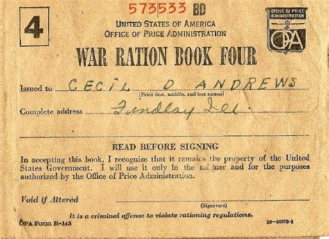 pictures of ration books ration books the national wwii museum new orleans