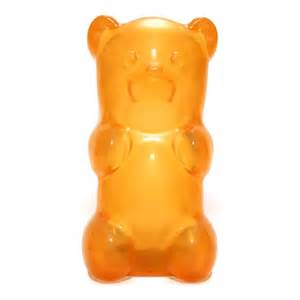 Office Desk Large Jailbreak Gummy Bear Nightlight Orange