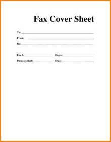 6 fax cover sheet template pdf resume portfolio
