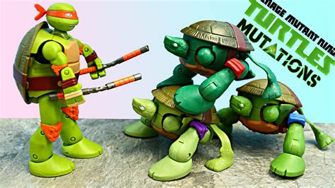 turtles mutations baby turtle to teenagers stacking