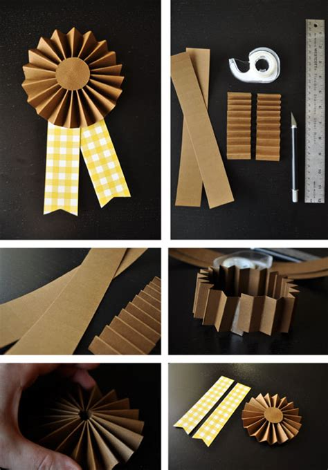 How To Make A Ribbon With Paper - firefly creative design prize ribbons