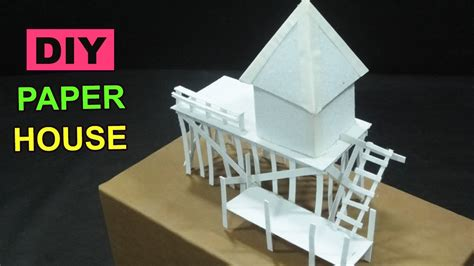 Arts And Crafts Made Out Of Paper - diy paper house 1 crafts ideas