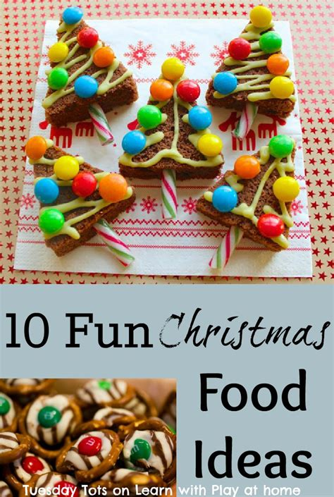 learn with play at home 10 fun christmas food ideas