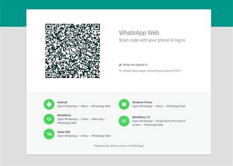 whats app web 161 whatsapp ya se puede usar desde la web trecebits
