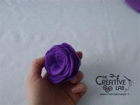 fiori di stoffa come fare tutorial come fare dei fiori di stoffa the creative lab