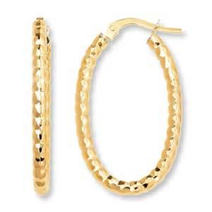 Kay beaded hoop earrings 14k yellow gold