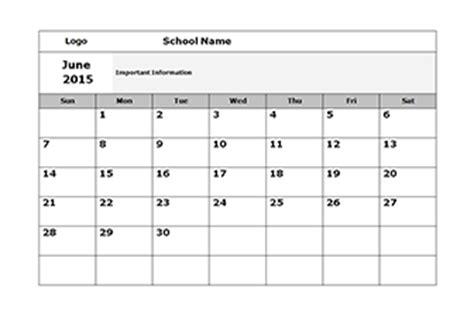 monthly school calendar template school calendar 2018 2019 academic calendar templates