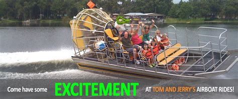 airboat in orlando tom and jerry s airboat rides orlando kissimmee central