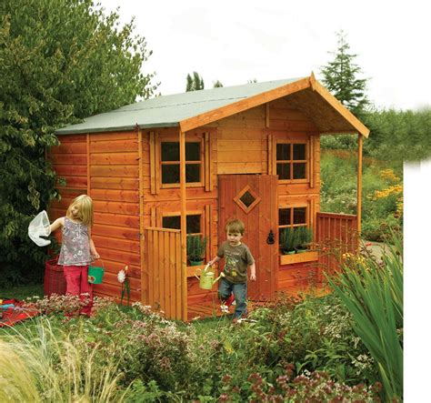 Rowlinson Hideaway House Kids Play House Childrens Garden