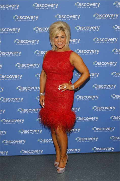 theresa caputo cleavage search results for larry caputo tumblr black hairstyle