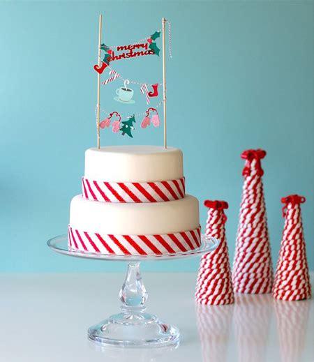 decorar tarta navidad c 243 mo decorar tartas con guirnaldas pequeocio