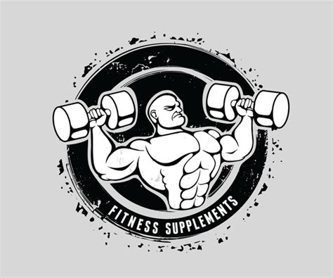 supplement logos fitness supplements logo design 13 logo design