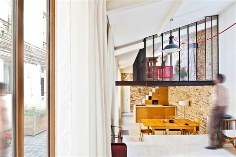 Paris Loft | three level compact loft in paris boasting a bohemian