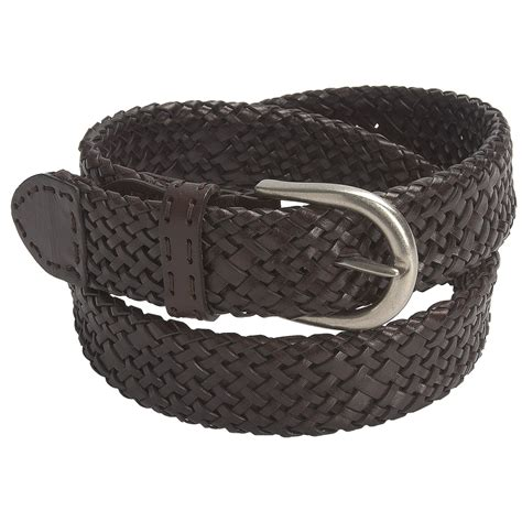 paradise blue woven leather belt for save 42