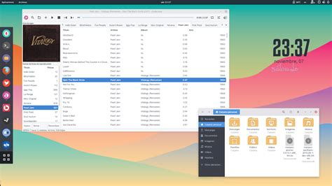 apricity themes gnome manjaro gnome 3 18 desktop november by jomada74 on deviantart