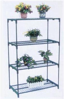 scaffali per piante scaffale per piante 4 ripiani semilandia