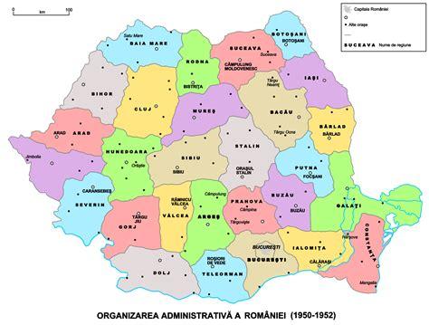 political map of romania romania political map