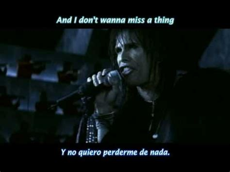 aerosmith i dont wanna miss a thing espaol aerosmith i don t want to miss a thing subtitulo