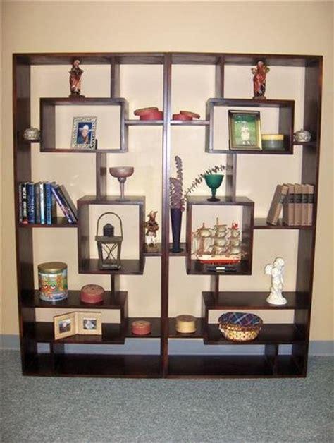 geometric bookcases custom by chris davis