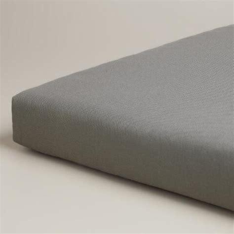 gray bench cushion gray outdoor bench cushion world market