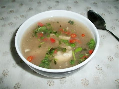 chicken clear soup recipe clean simple soup youtube