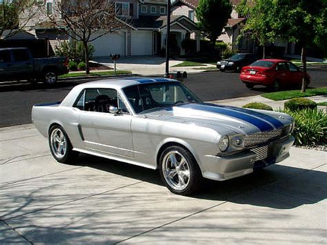 value of 66 mustang 1965 mustang coupe custom restomod for sale