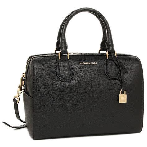 Tas Michael Kors Mk Mercer Duffle Gold Original michael kors mercer medium leather duffle bag black 30h6gm9u2l 001 ebay