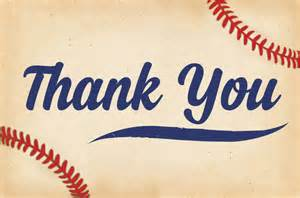 baby shower thank you cards baseball thank you