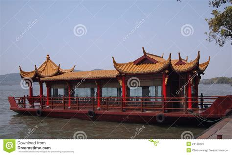 ancient chinese boat stock image image