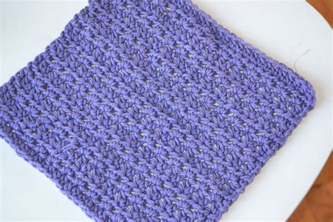 free pattern dishcloth crochet in color dishcloth pattern