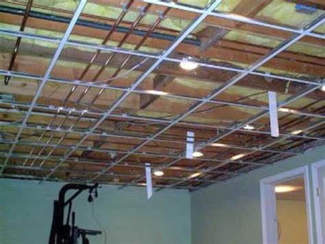 why use a suspended ceiling youtube