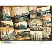 Vintage De Europa Foto Archivo  Imagen 45478080